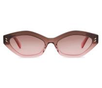 Grafische Sonnenbrille