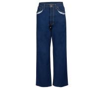 Jeans mit Perforiereffekt