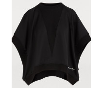 Kurzärmliges oversized Sweatshirt