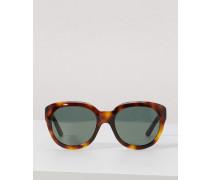 Runde Sonnenbrille aus Azetat