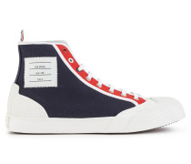 High Sneakers aus Canvas