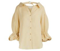 Amber - Hemd aus Mischleinen