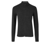 Pullover aus Baumwolle mit Stehkragen und Reißverschluss Geelong