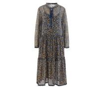Kleid aus Mischseide