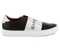 Niedrige Sneakers mit Einsatz