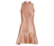 Kurzes Metallic-Kleid