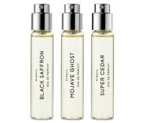 Die holzige Auswahl - Eau de Parfum 3x12 ml