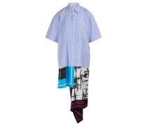 Hemdkleid mit Schal-Print