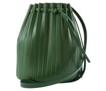 Plissierte Bucket-Bag