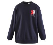 Sweatshirt aus Baumwolle mit Logo-Grafik