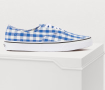 Authentic gingham sneakers|40