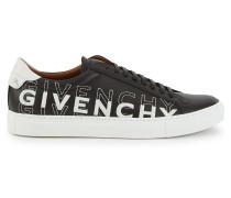 Niedrige Turnschuhe aus Leder von Givenchy mit Farbverlauf