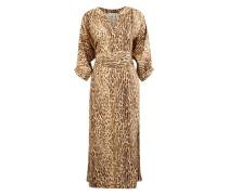 Espionage silk dress