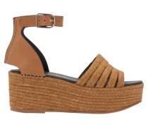 Geschnürte Sandalen