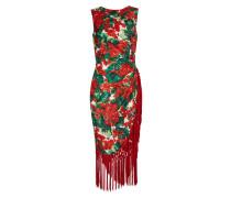 Kurzes Kleid aus Mischseide
