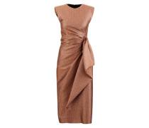 Metallicfarbenes Kleid