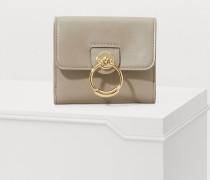 Kleine quadratische Brieftasche Tess
