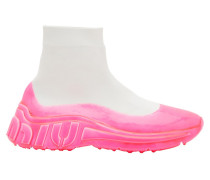 Neon-Sockensneaker