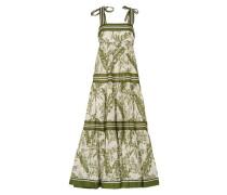 Kleid mit gebundenen Trägern
