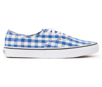 Authentic gingham sneakers