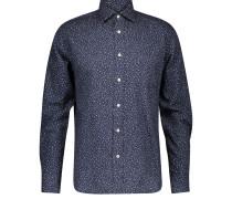 Reguläres Baumwollhemd Paul