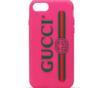 Gummihülle das iPhone 7 mit Gucci-Logo