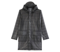 Le Check Hooded Coat