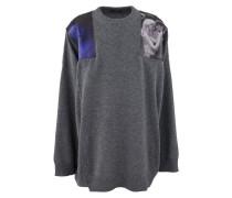 Bedruckter Oversize-Pullover