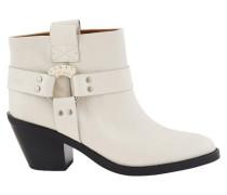 Santiag ankle boots