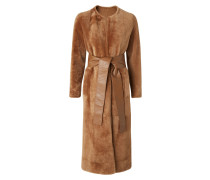 Shearling-Mantel Claire