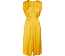 Ärmelloses Midi-Kleid