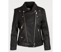 Perfecto-Jacke aus Leder
