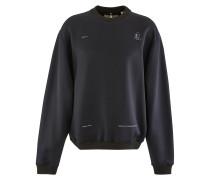 Sweatshirt Patch mit Rundhalsausschnitt