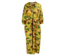 Kleid mit Palmen-Print