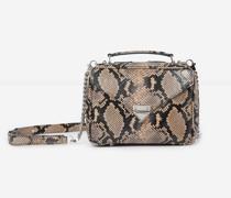 Python-Handtasche mit Reißverschluss Barbara