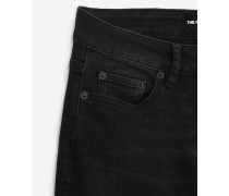 slim-fit-jeans sichtbare knöpfe