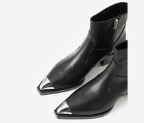 rockige stiefel im western-style mit absatz