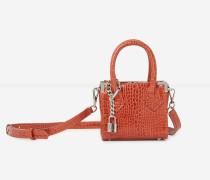 Nano-Handtasche Ming in Kroko