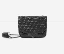 mini-handtasche stella by the kooples aus leder