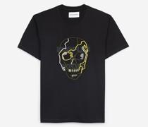 Herren-T-Shirt mit Logostickerei