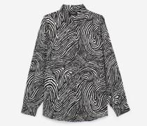Elegantes Hemd mit Safari-Print