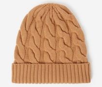 farbene Mütze aus Wolle