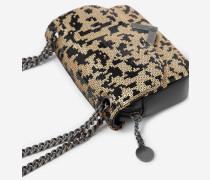mini-tasche stella by the kooples mit leopardenmotiv leopard