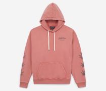 verwaschenes kapuzen-sweatshirt in oversize-passform