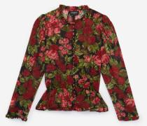 Elegantes Hemd mit Blumenprint