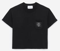 baumwoll-t-shirt mit the kooples etikett