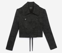Kurze Jacke aus Wolle