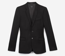 Elegante Jacke aus Wolle mit Revers