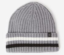 Mütze aus Wolle mit grobem Zopfmuster