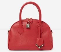 mittelgroße handtasche irina by the kooples aus leder red